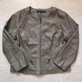 отличная деми куртка из искусственной кожи Trendy Line. 42 евро