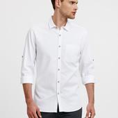 мужская рубашка белая LC Waikiki