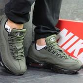 Зимние мужские кроссовки 6343 Nike Air Max 95