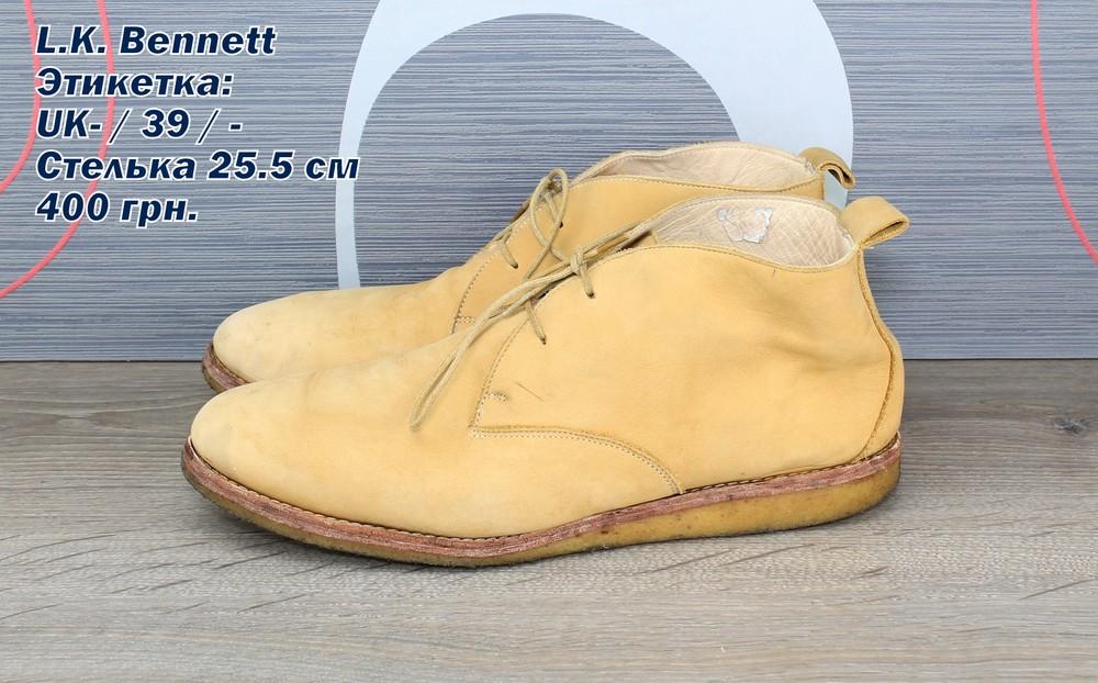 Ботинки  l. k. bennett фото №1