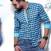 Утеплённые мужские рубашки ТМ Rubaskа