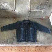 Пиджак джинсовый на мальчика фирма  Bestway возраст 6 лет