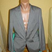 Мужской серый пиджак Voeut р. 50-52