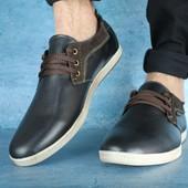 Мужские Ботинки ZanGak Black