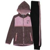 Низкая цена- супер качество! Теплые спортивные костюмы для девочки Венгрия