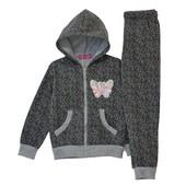Низкая цена-супер качество! Теплые спортивные костюмы для девочки Венгрия