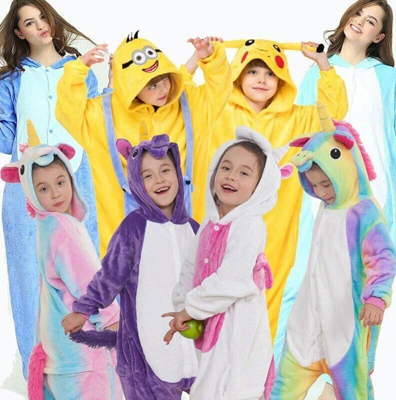 Пижама кигуруми единорог стич слип кенгуруми кегуруми для девочки мальчика фото №1