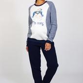 Теплые спортивные брюки для беременных, синие