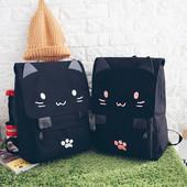Новинка! Подростковый женский рюкзак. Котик