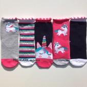 Носки для девочки Единорог (23-26 евр) Primark. Читать описание!