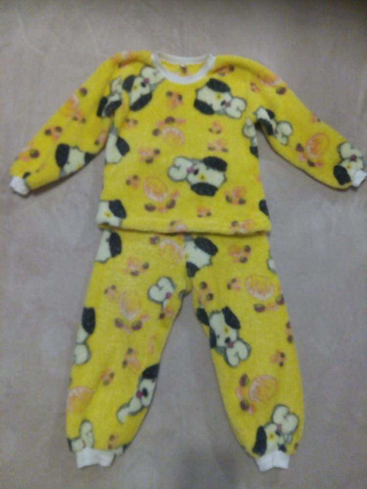 Пижама махровая 6-7л. фото №1