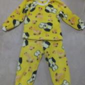 Пижама махровая 6-7л.