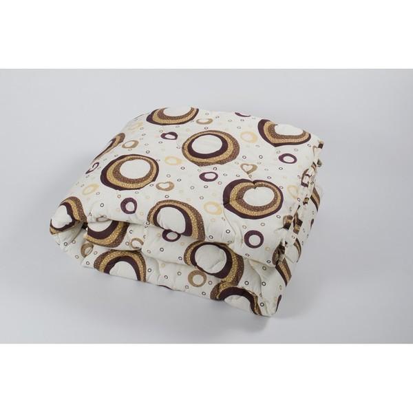 Одеяло lotus - colour fiber 170*210 indi кофе двухспальное фото №1