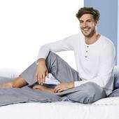 Мужская пижама домашний костюм Livergy Германия, реглан кофта футболка штаны