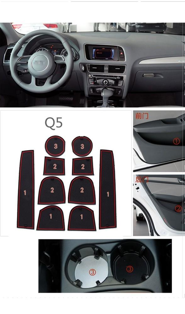 Audi q5 ауди q5 коврики для ниш и карманов фото №1