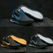 Мужские кожаные зимние кроссовки Nike, gavk-022W-M1