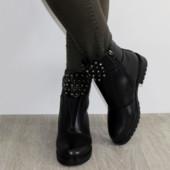Женские зимние ботинки 36-41р