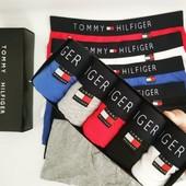 Фирменный Набор Мужских Трусов Tommy Hilfiger 5 шт + подарочная упаковка