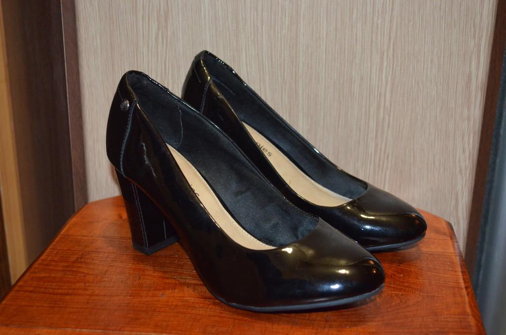 Кожаные туфли hush puppies 35.5 р., 23 см фото №1
