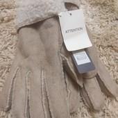 Мужские зимние перчатки на овчине