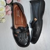 Комфортные туфли Hotter 39р 25,5см