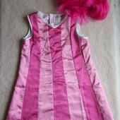 Платье парик Стефани Лентяево, на 4-7 лет.