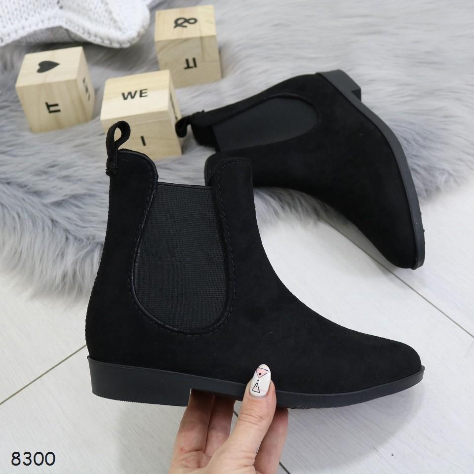 Ботинки_8300 резиновые сапожки фото №2