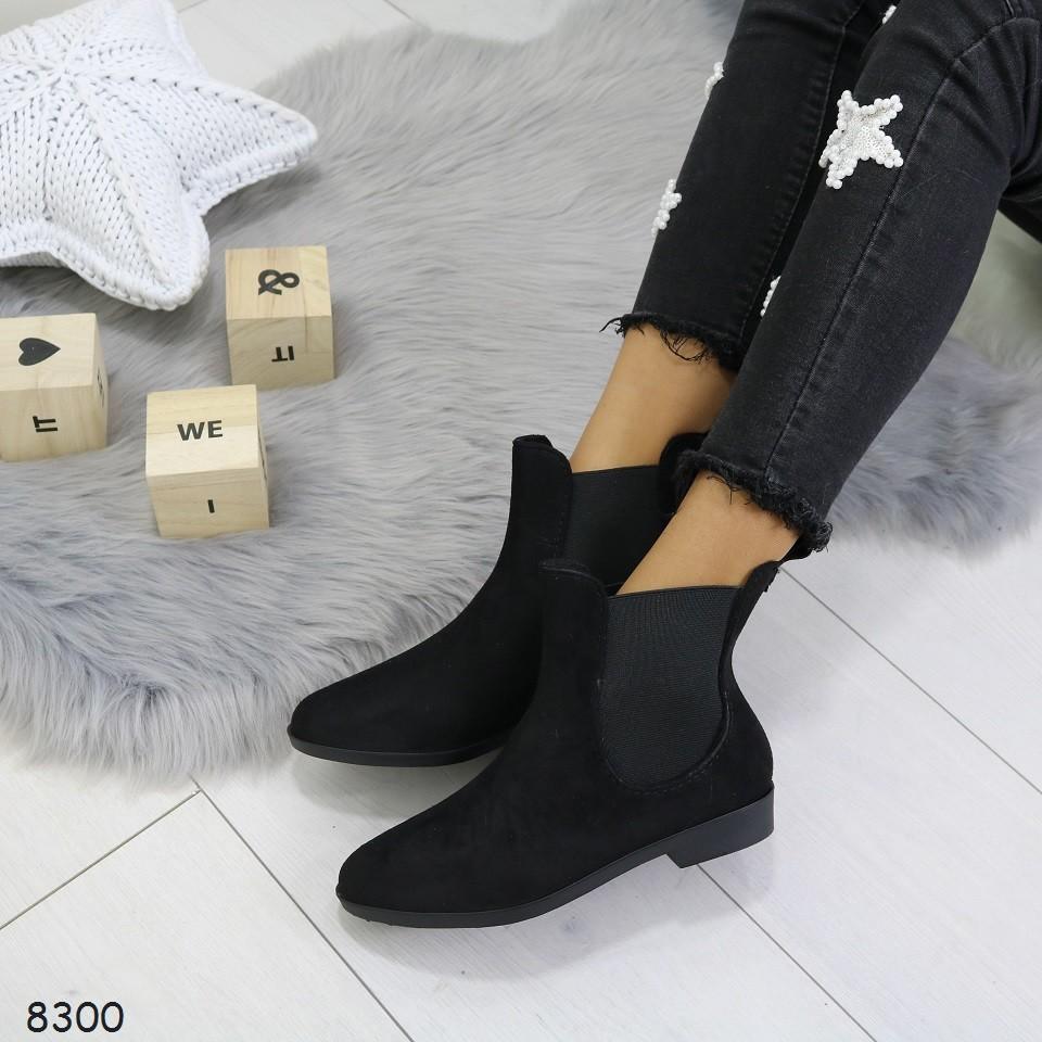 Ботинки_8300 резиновые сапожки фото №7