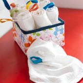 Набор полотенец детских, 10 шт., Krama Ikea Икеа