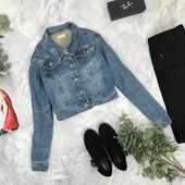 Укороченный джинсовый жакет 14/42/L   OV1843039