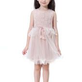 12-35 нарядное красивое детское платье на выпускной праздник утренник фотосессию 116 122 128