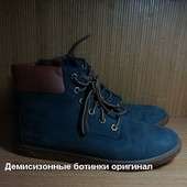 Кожаные ботинки timberland  40 р