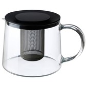 Заварник чайник стекло икеа риклиг 901.500.71 ikea riklig