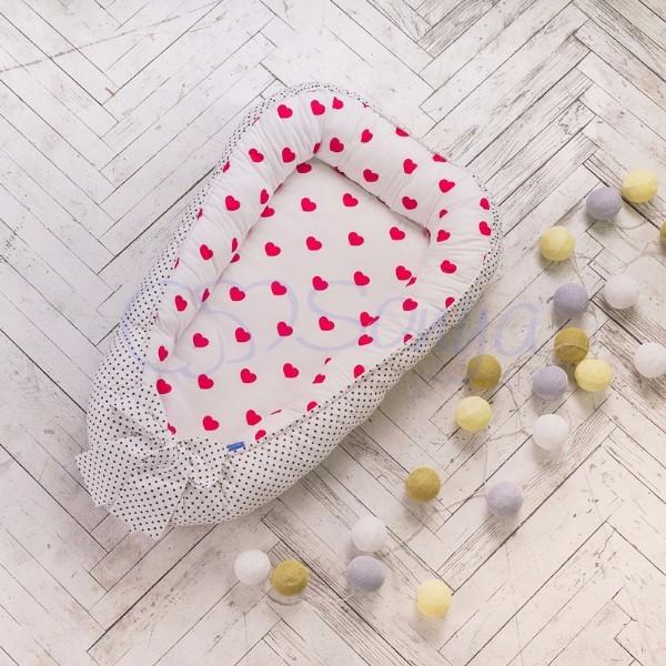 Кокон-гнездышко для новорожденных на выписку (много моделей) фото №12