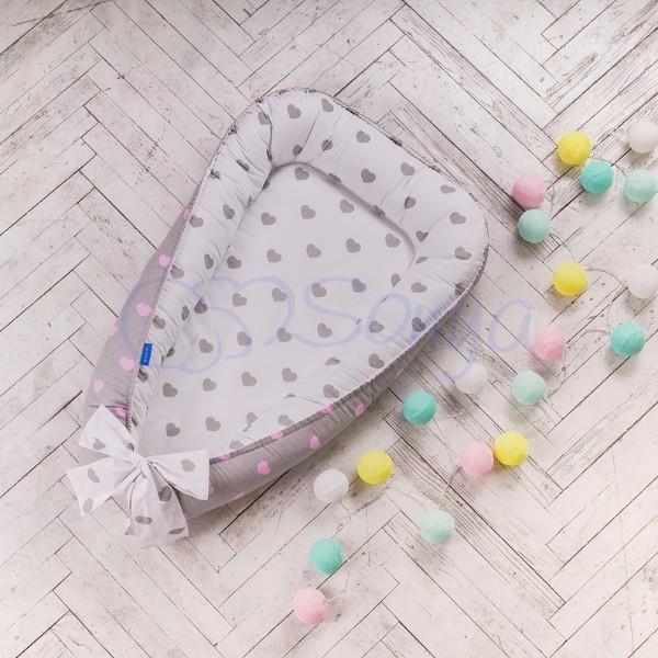 Кокон-гнездышко для новорожденных на выписку (много моделей) фото №13