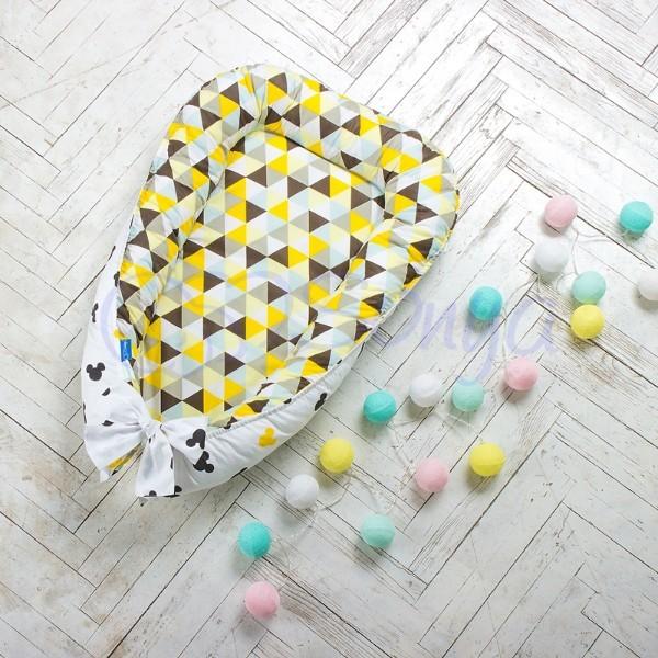 Кокон-гнездышко для новорожденных на выписку (много моделей) фото №15