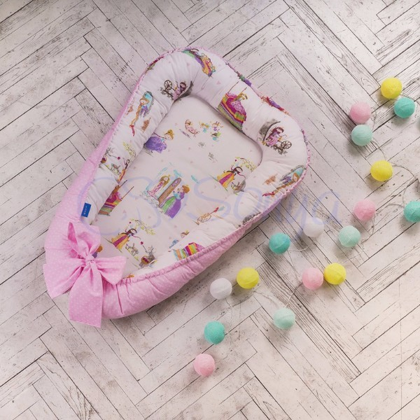 Кокон-гнездышко для новорожденных на выписку (много моделей) фото №17