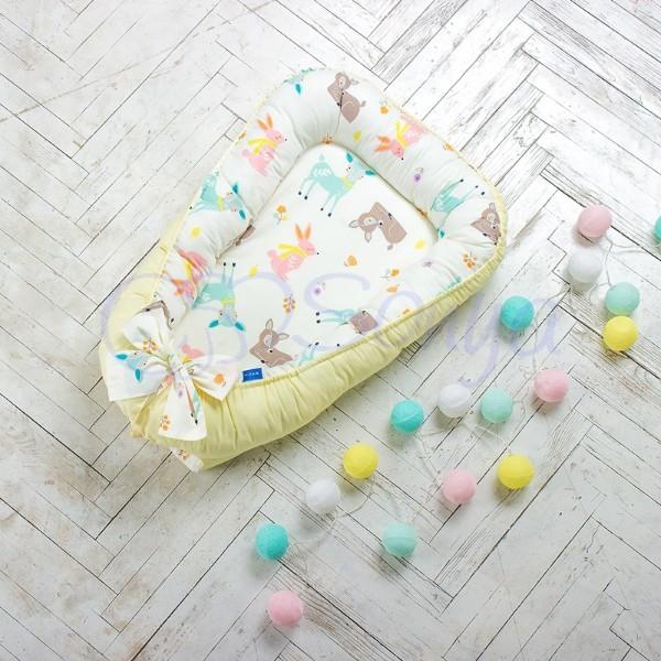 Кокон-гнездышко для новорожденных на выписку (много моделей) фото №4