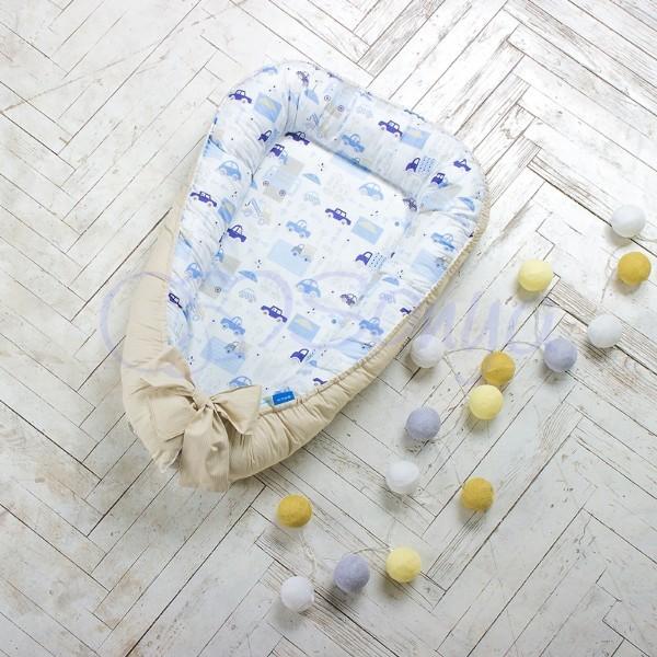Кокон-гнездышко для новорожденных на выписку (много моделей) фото №5