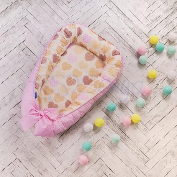 Кокон-гнездышко для новорожденных на выписку (много моделей) фото №7