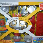 Игровой набор посуды 6010-7/6010-8