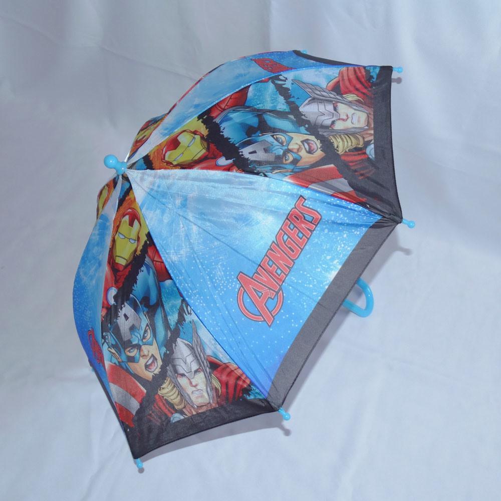Детский зонтик-трость капитан америка фото №1