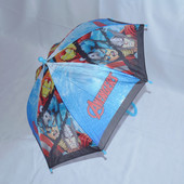 Детский зонтик-трость Капитан Америка