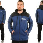 Теплый мужской спортивный костюм Tailer, зимний, р-р 50-56