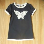 Фирменное платье Early days малышке 9-12 состояние нового