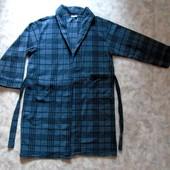 Мужской флисовый халат 54