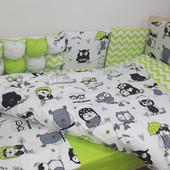 Комплект постельного белья  в кроватку  для детей  комбинированный 120*60