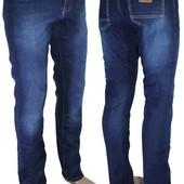 Мужские джинсы на флисе New Jeans. 28, 29, 30, 31, 32, 33, 34, 36 Размер.