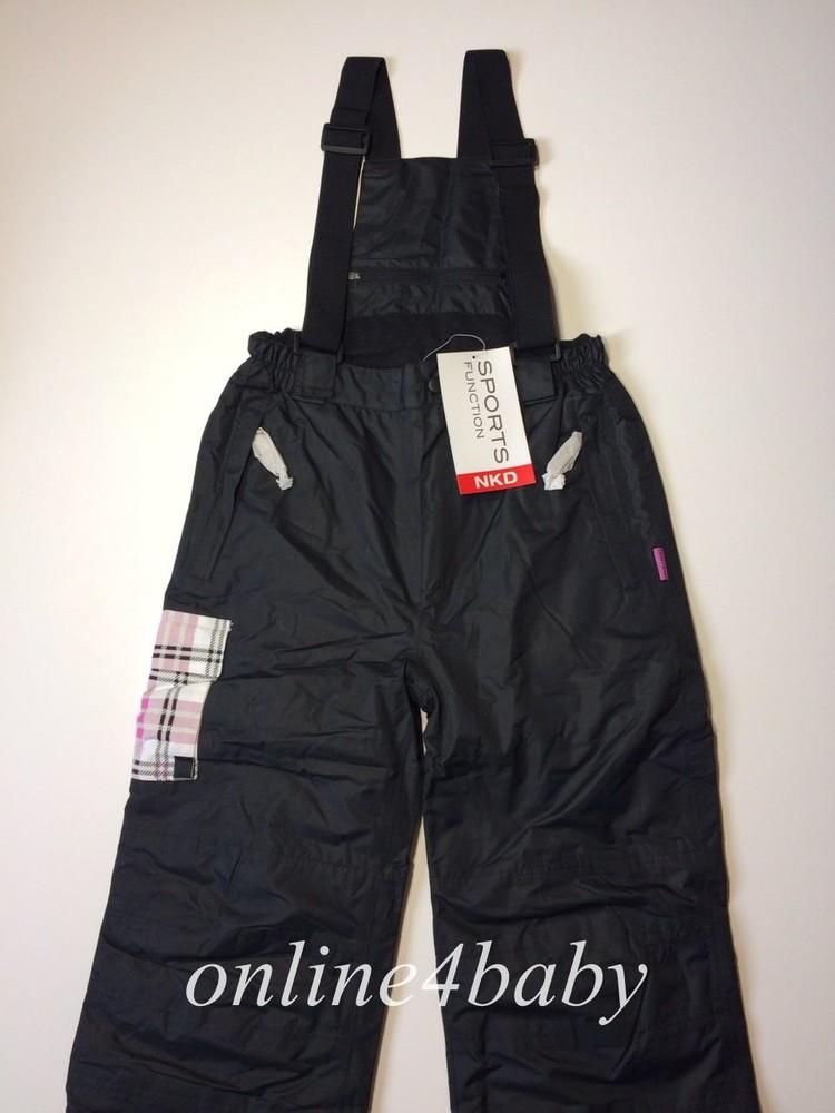 Детские лыжные штаны nkd на девочку 10-12,12-14,14-16 лет, рост 146/152, 158/164, 170/176 фото №1