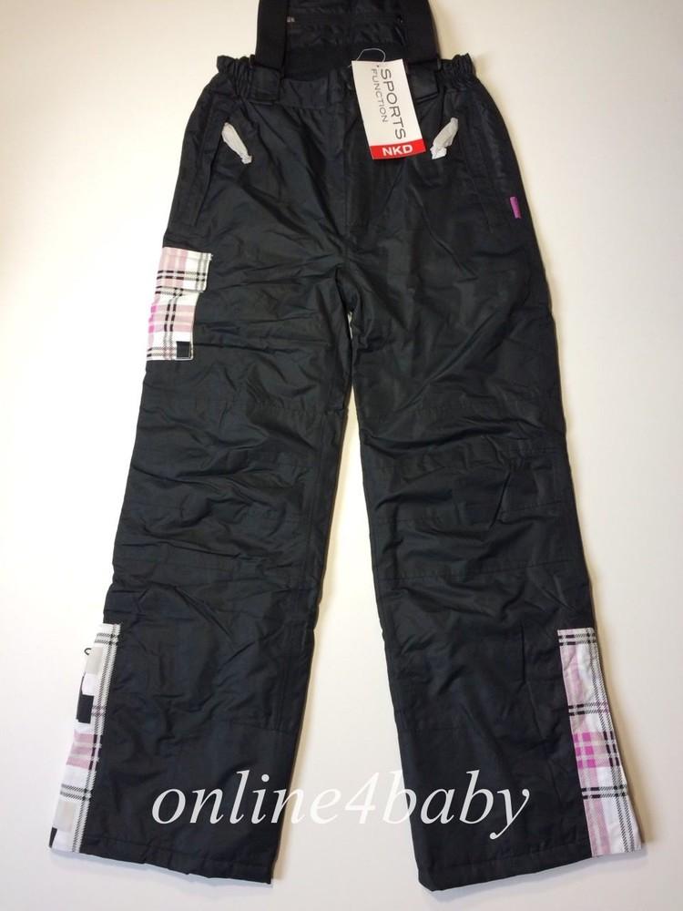 Детские лыжные штаны nkd на девочку 10-12,12-14,14-16 лет, рост 146/152, 158/164, 170/176 фото №2